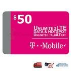 Внешний вид -  Preloaded T-Mobile 1 & 2 Month $40/ $50/$60 Unlimited data SIM Card