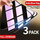 3Pack Anti Blue Light Tempered Glass For iPhone 12 Pro Max Mini Screen Protector
