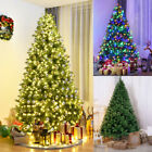 1.8m 6ft Christmas Tree Pre Lit Led Decorated Xmas Trees Home Decoration Lights
