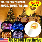 20-60 LEDs Battery Operated Mini LED Copper Wire String Fairy Lights Waterproof