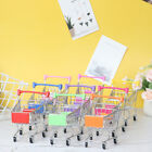 1 Pcs Mini Shopping Cart Supermarket Handcart Shopping Cart Storage Toy Jc