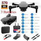 New RC Drone 4K HD Dual Camera Wi-Fi FPV Selfie Drone Foldable Quadcopter Gift