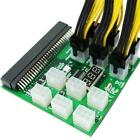 6Pin Breakout Board For HP PSU GPU Mining LED Display Ethereum Hot Y1S1