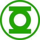 Green Lantern Logo Vinyl Decal -free Shipping-size And Color Options Available