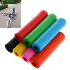 Silicone MTB Mountain Bike Handle Bar Bicycle Cycling Soft. Foam Grips Anti-Slip