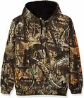 Carhartt Men's Midweight Camo Sleeve Logo Hooded Sweatshirt (Regular and Big & T