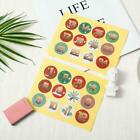 1-24 Number Stickers Christmas Sealing Adhesive Label Paper Us Stickers L0i3