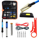 Soldering Iron Kit Electrical Welding Tool Gun Set Solder Station Tip Tweezer photo