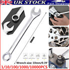 1/10/100/1000/10000pcs Ratchet Spanner Combination Fixed Repair Head Wrench 10mm