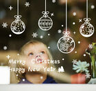 Merry Christmas Home Window Store Wall Stickers Decal Decor Removable Sp