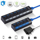USB 3.0 HUB for PS4/ Pro/Slim/PS5/Xbox One High Speed Splitter Expension Adapter