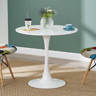60/80CM Round Dining Table and 2 / 4 Chairs Optional Lounge Bar Office Home