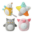 Soothing Night Light Projector for Babies Soft Plush Animal Stuffed Toy