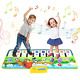 Kids Piano Mat, Toddlers Kids Toys Age 1 2 3 4 5 Year Old Girls Boys Music Dance