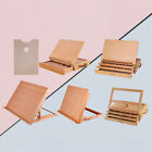 Artist Wooden Desk Sketch Box Easel Painter Portable Painting Drawing Tools