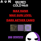 Внешний вид - COD COLD WAR - MAX GUN LEVEL - DARK AETHER CAMO - MODDED LOBBY - LEVEL 1,000