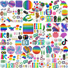 1-100Pack Fidget Figet Toy Popit Sensory Tools Bundle Anxiety Stress Relief Game