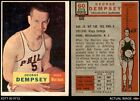 1957 Topps #60 George Dempsey Warriors The King's College 3 - VG