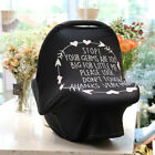 Baby Stretchy Nursing Breastfeeding Cover Multi Use Carseat Canopy Stroller US
