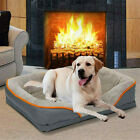 Thick High Grade Dog Bed for X Large Pet Orthopedic Couch Sofa Nonskid Bottom