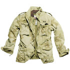 SURPLUS US M65 ARMY REGIMENT MENS JACKET + LINER MILITARY COAT DESERT STORM CAMO