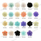 choose Resin Flower Cabochons Beads diverse colours
