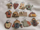 Mini Wood Wire colorful Wall Plaque Ornament Greeter