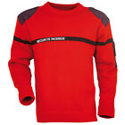 PULL SECURITE INCENDIE SSIAP ROUGE POCHE STYLO PROTECTION PREVENTION AGENT