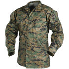 TACTICAL USMC SHIRT NYCO TWILL HELIKON DIGITAL WOODLAND