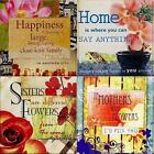 Decorative Glass TILE Plaque 4 X 4 Hang or Stand-Mom, Sister, Friend-U CHOOSE