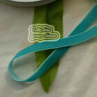 Teal Velvet Ribbons Trim Sewing Craft 6mm,10mm,12mm,15mm,18mm,24mm,38mm #50