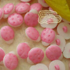 Pink Ladybird 13mm Plastic Buttons Sewing Scrapbooking Collectable Craft