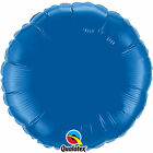 "Qualatex 18"" Round Foil balloons Packs of 10"