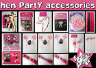 HEN NIGHT PARTY ACCESSORIES - GIRLS NIGHT OUT NOVELTY GAMES - BRIDE TO BE GIFTS