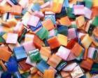 "1000 Pieces VAN GOGH MIX Mosaic TILE Glass Tiles 1 2"" HEAVENKISS made in USA"