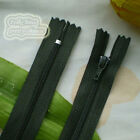 23cm Nylon Closed End Zips/Zippers Sewing Z12