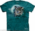 LEOPARD MOON ~  Big Cat T-Shirt - The Mountain-Tie-Dye Classic Tee - 100% Cotton