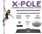 ★The Full X-Pole Dance Range - Chrome,Brass & Titanium Gold 40mm, 45mm and 50mm★