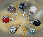 SP Hands Gemstone Bead Jewelry Pendant Drop for Necklace