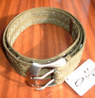 OAKLEY WEB BELT COLOUR NEW OLIVE S, M AND L BNWT