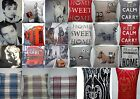 "18"" X 18"" INCH PLAIN VINTAGE CUSHION COVERS FOR BEDROOM /LOUNGE ROOM / SOUVENIRS"