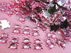 110 Baby Bear Rhinestone Acrylic Jewel Craft/girl shower/decoration/bow E30-Pink