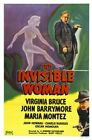 THE INVISIBLE WOMAN 01 VINTAGE B-MOVIE REPRODUCTION ART PRINT A4 A3 A2 A1