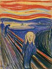 The Scream Painting By Edvard Munch Reproduction Art Print Canvas A4 A3 A2 A1