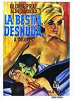 THE NAKED BEAST 01 VINTAGE B-MOVIE REPRODUCTION ART PRINT CANVAS A4 A3 A2 A1