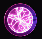 """Lumin Disk 6"""" Plasma Plate Light Show Party Home Decor Respond to Music or Touch"""