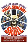 THE SKULL 01 VINTAGE CLASSIC B-MOVIE REPRODUCTION ART PRINT A4 A3 A2 A1