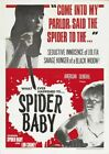 SPIDER BABY 01 VINTAGE CLASSIC B-MOVIE REPRODUCTION ART PRINT CANVAS A4 A3 A2 A1