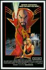 Flash Gordon Retro Movie Poster Reproduction Art Print A4 A3 A2 A1