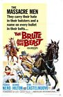 THE BRUTE AND THE BEAST B-MOVIE REPRODUCTION ART PRINT A4 A3 A2 A1